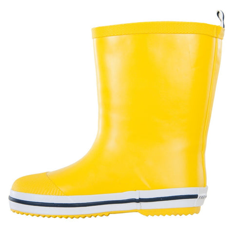 Kids Rubber Gumboots in Yellow