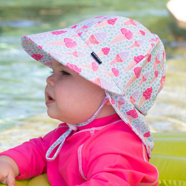 Ice Cream Legionnaire Baby Hat