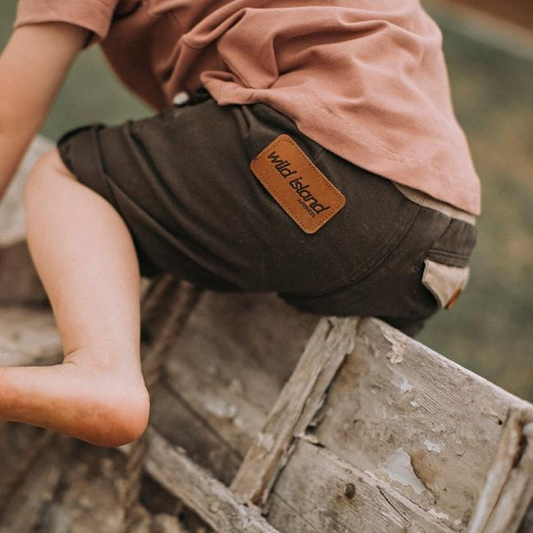 The Sandshaker Shorts in Cedar Brown