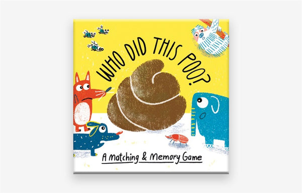 Who Did This Poo Memory Game