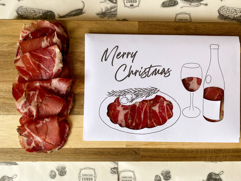 "Christmas ""Meat"" Card - Merry Christmas"
