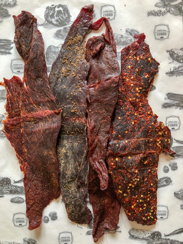Texas Joe's Jerky selection - multipack x 4