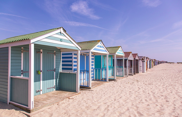 New collection - Inspired by colourful beach huts & summer cloths