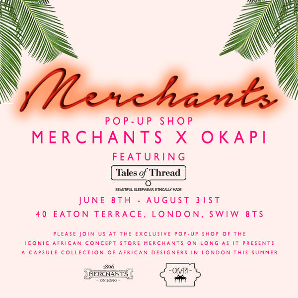 London summer pop-up: come see us!