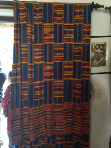 Kente vintage cloth, The African Heritage House, Nairobi