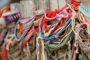 Phonm Penh Cambodia Killing Fields friendship bracelets