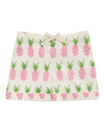 Women's Pineapple Pyjama Shorts