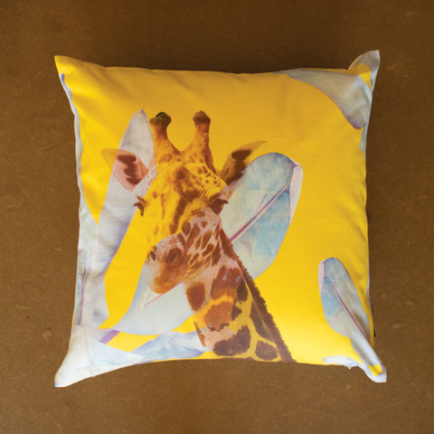 Radiant Giraffe cushion