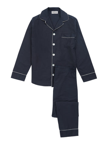 Men's Navy Pyjama Set