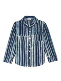 Men's Stripe Pyjama Shirt