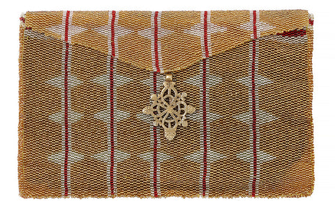 Masaai beaded clutch