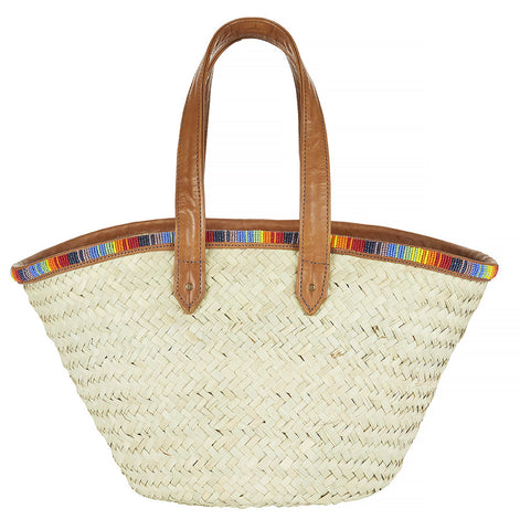 Masaai beaded basket