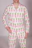 Men's Pineapple Pyjama Set