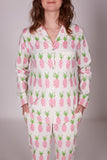 Women's Pineapple Pyjama Trouser Set