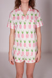 Women's Pineapple Short Pyjama Set