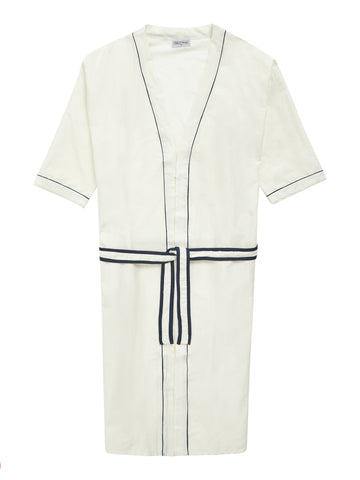 Ivory Long Lounge Robe