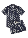 Women's Star Pyjama Shorts Set
