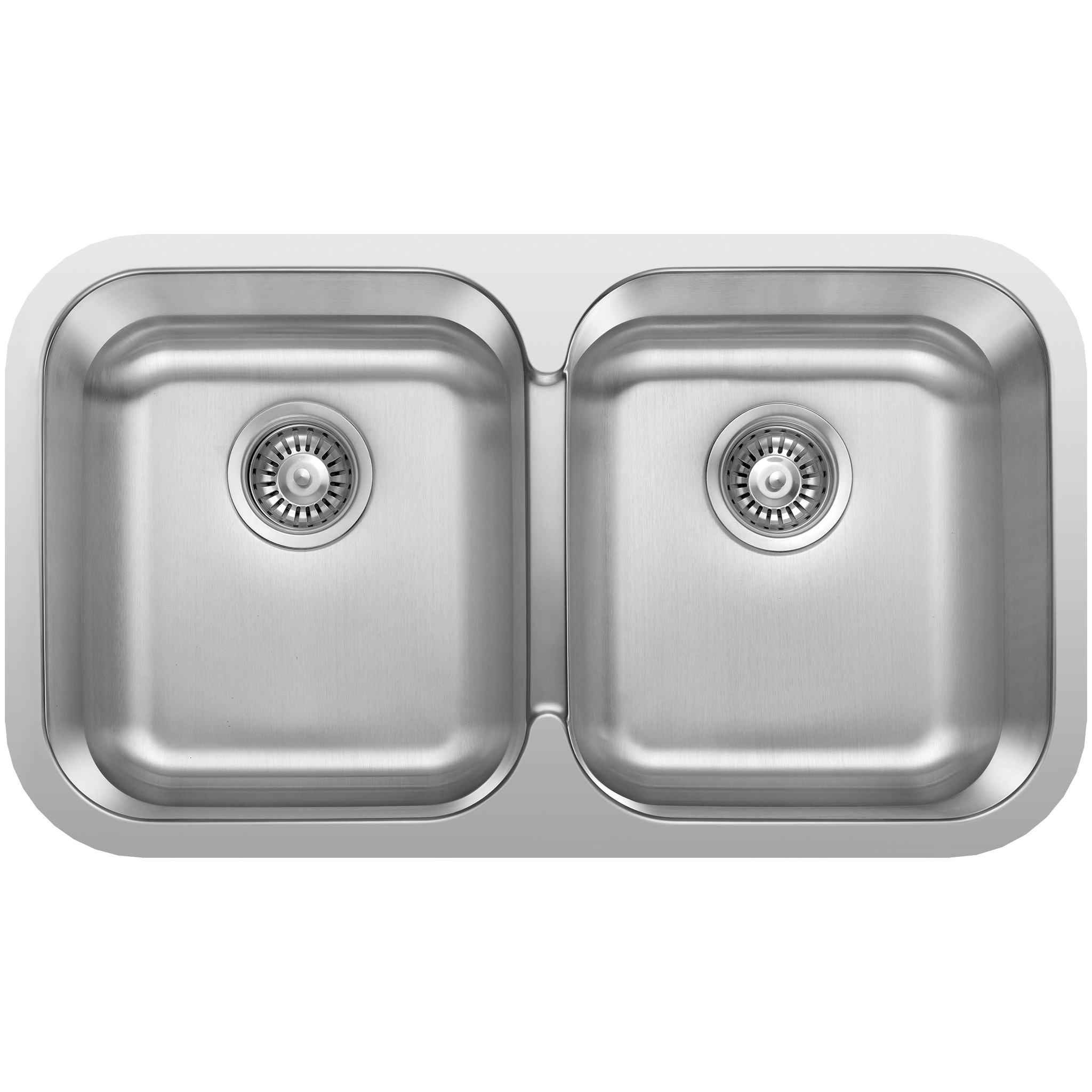 Superior SinkRus 20318U   Grade 304 / Gauge 18 Stainless Steel   Double Bowl    Undermount ...
