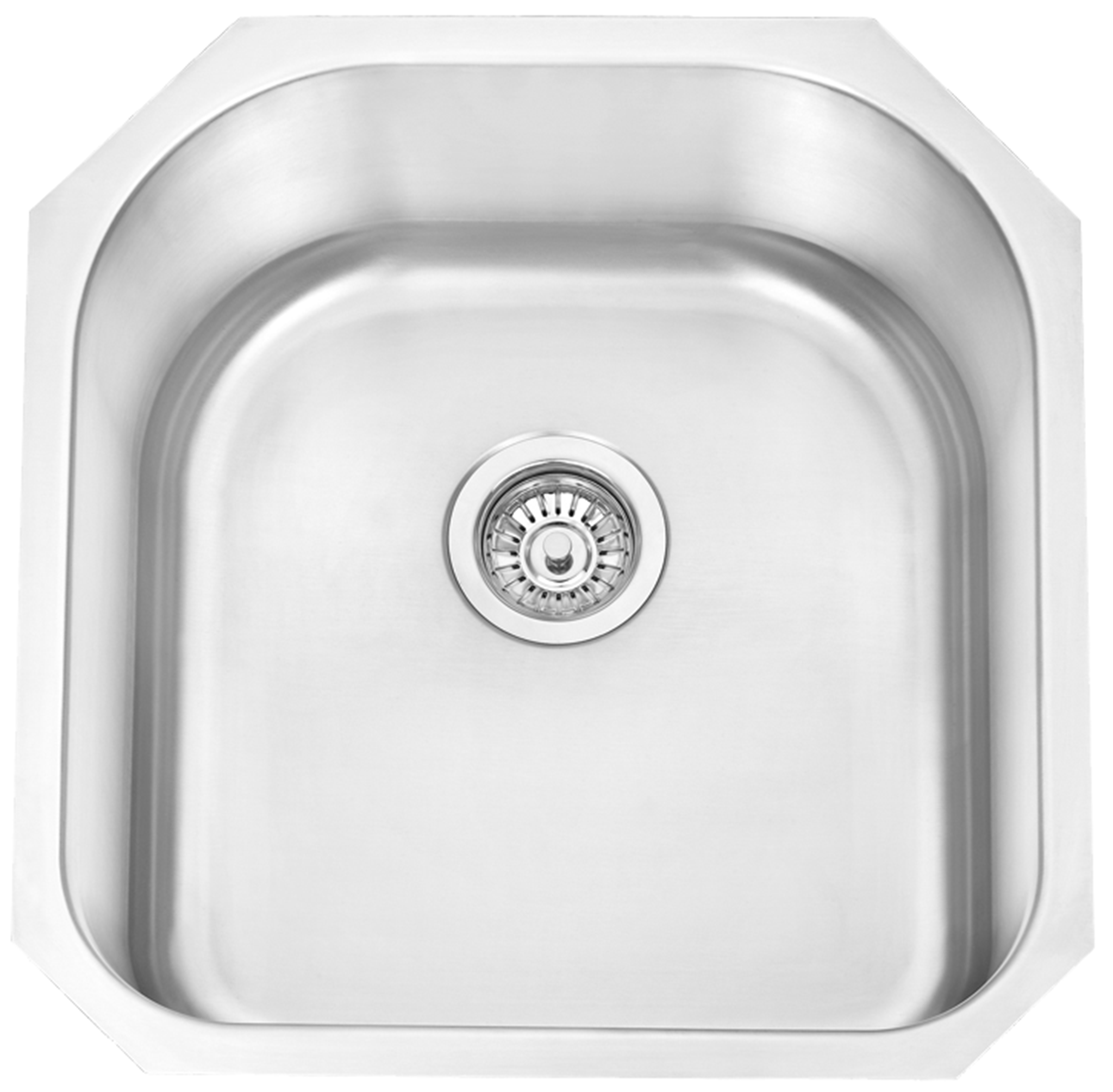 24218U   Single Bowl Undermount Stainless Steel Sink