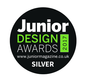 We only went and won a SILVER JUNIOR DESIGN AWARD....