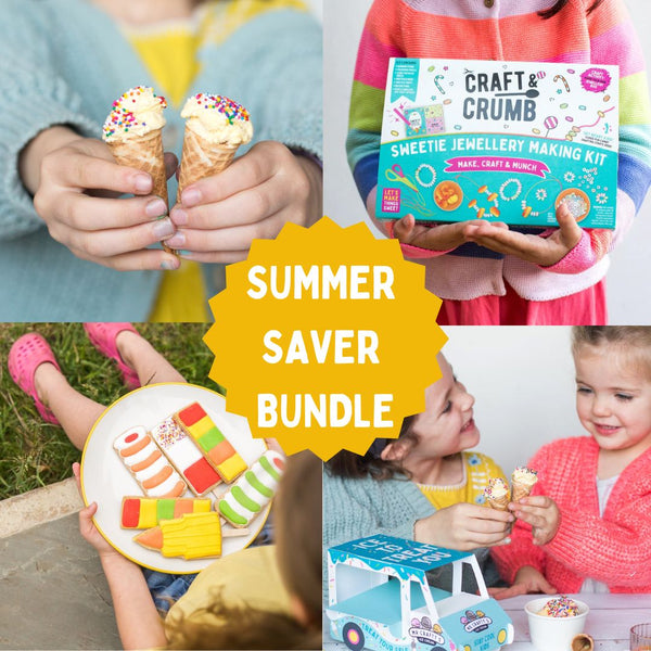 Create your own disco dinosaurs cake activity kit