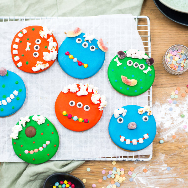 MMMM Monster biscuit baking and craft kit