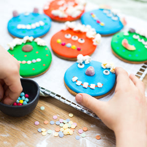 Monster biscuit baking and craft kit