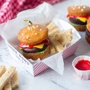 Load image into Gallery viewer, Burger Cupcake Kit