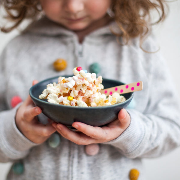 Marshmallow goo popcorn kit party bag
