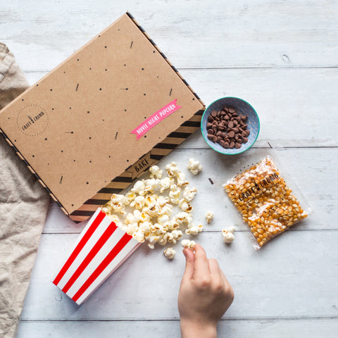 Mini movie night popcorn Kit