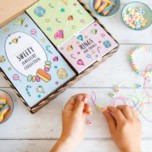 Make your own sweetie jewellery activity kit