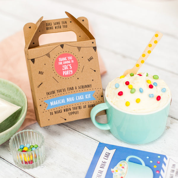 Magic mug kit party bag