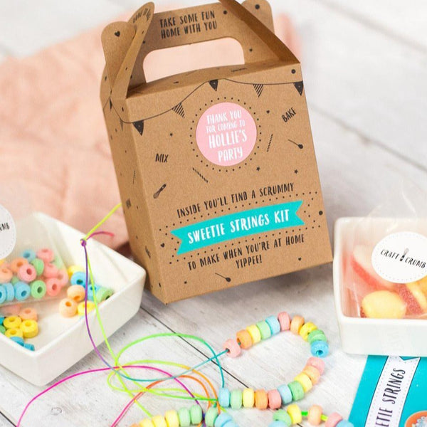 Sweetie strings kit party bag