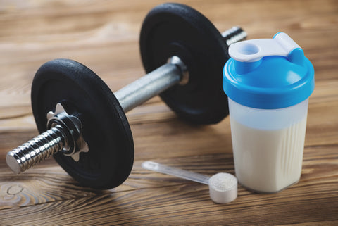 Using Protein Shakes to Build Muscle