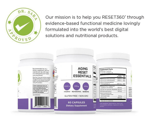 Aging Reset Essentials Supplements Reset360 | Gottfried Institute