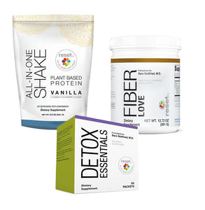 Basic Detox Kit + 7-Day Detox Program Kits FW Vanilla w/ Fiber Love