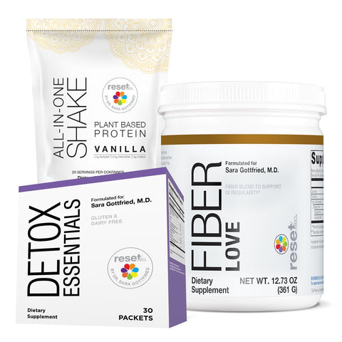 Image of Basic Detox Kit Kits FW Vanilla w/ Fiber Love