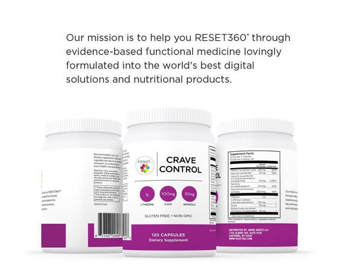 Crave Control Supplements Reset360