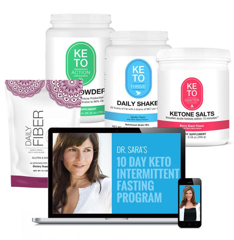 Image of Deluxe Keto Bundle + Keto IF 10-Day Program Digital Solutions Gottfried Institute