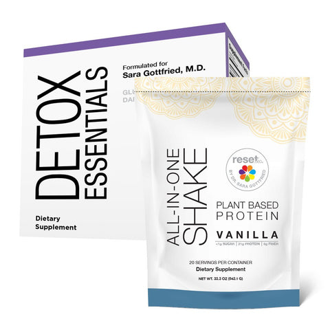 Detox Mini Kit + 7 Day Detox Program Kits Reset360