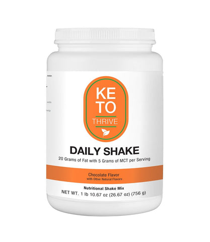 Image of KETO Thrive Collagen Shake Reset360 Chocolate