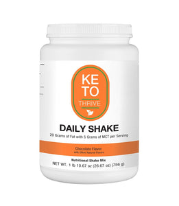 KETO Thrive Collagen Shake Reset360 Chocolate