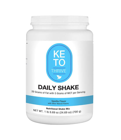 Image of KETO Thrive Collagen Shake Reset360 Vanilla