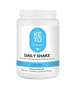 KETO Thrive Collagen Shake Reset360 Vanilla