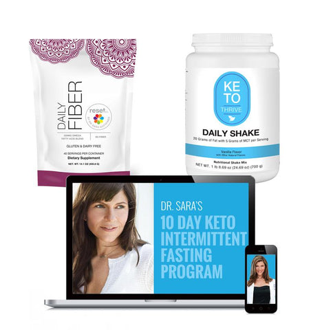 Image of Mini Keto Bundle + Keto Resets Intermittent Fasting 10-Day Program Digital Solutions Gottfried Institute