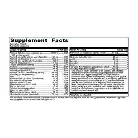 Multitasker (with Iron) Supplements Reset360