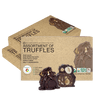 Organic 85 Dark Raw Organic Chocolate Assortment Truffles - Bundle 3 Shakes Reset360 Box Of 8 - Organic Dark Chocolate Truffles - 3