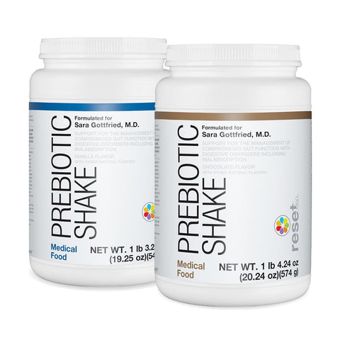 Prebiotic Shakes (Medical Food) Shakes Reset360 Chocolate