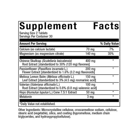 Sleep Tight Supplements Reset360