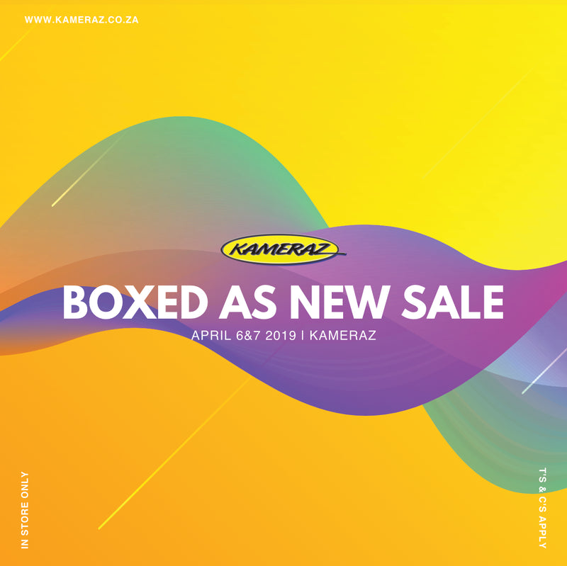 April SuperSunday & Boxed As New SALE